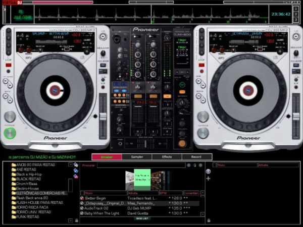 virtual dj skins free download pioneer